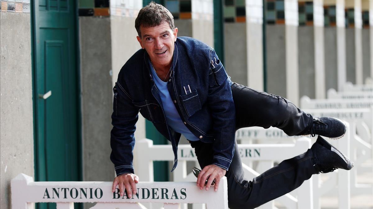 Antonio Banderas, este miércoles, 6 de septiembre, en el Festival de Cine de Deauville.