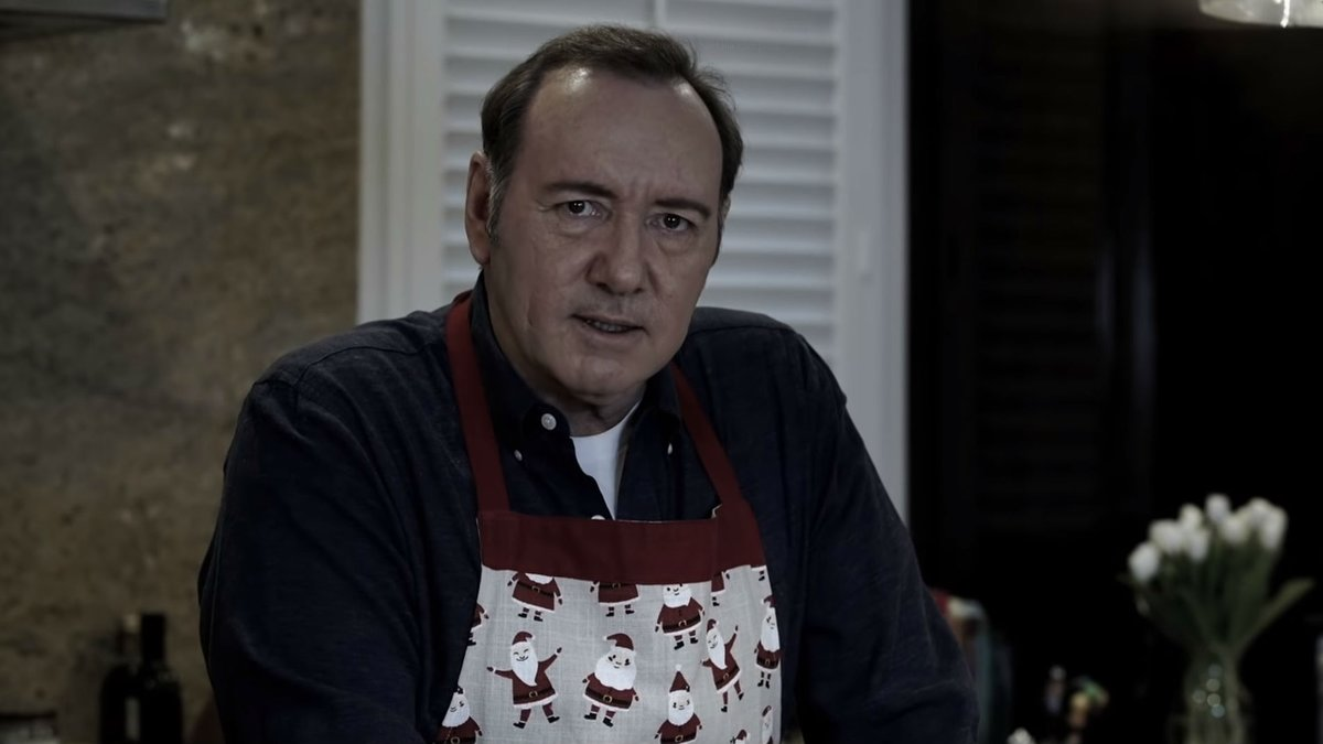 El actor Kevin Spacey se defiende en el vídeo Let me be Frank, publicado en Nochebuena