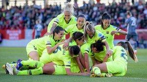 El Barça encarrila el pas a la final de la Champions femenina