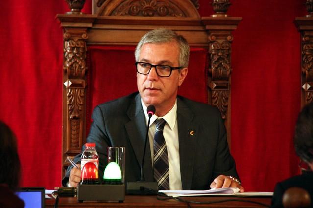El alcalde de Tarragona, Josep Fèlix Ballesteros, en una imagen de archivo.