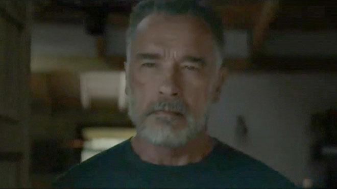 Arnold Schwarzenegger y Linda Hamilton aparecen en Terminator: destino oscuro.
