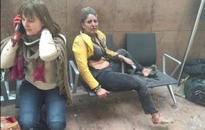 Uno de los atentados terroristas del 2016, el perpetrado en el aeropuerto de Bruselas el 22 de marzo.