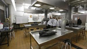 Un aula de prácticas en la UAB.