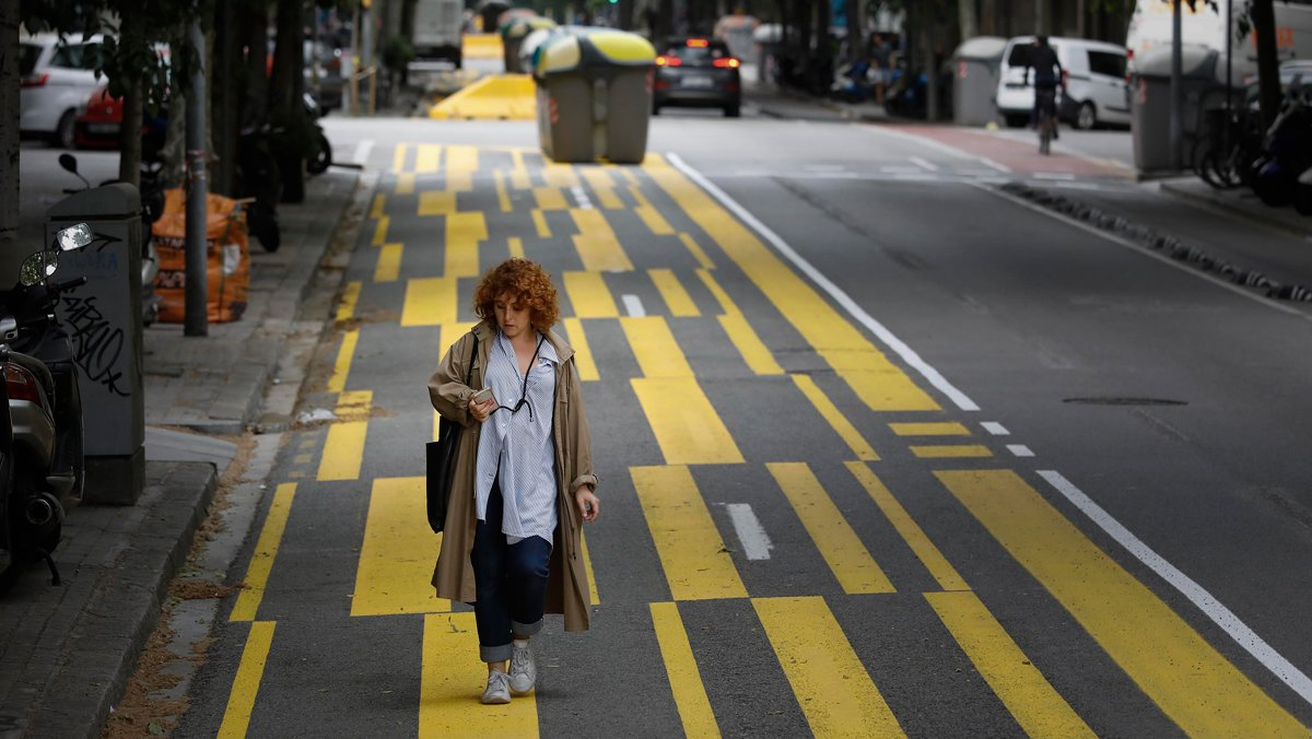 Els carrers prohibits per als cotxes en cap de setmana es podrien mantenir
