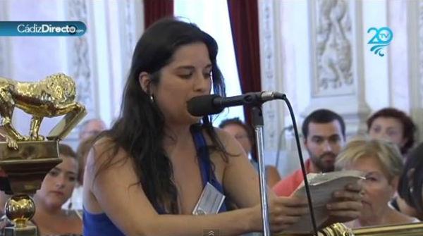 La intervención de Inmaculada Michinina en el pleno del Ayuntamiento de Cádiz que ha arrasado en las redes