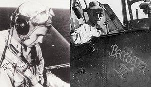 Bush, en su época como piloto de bombardero, durante la Segunda Guerra Mundial.