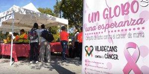 Campaña por la lucha contra el cáncer de Viladecans.