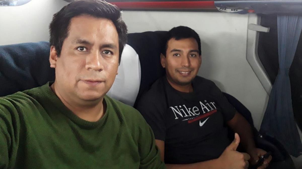Capcha y Huarcaya, los técnicos que rescataron a Patricia y detuvieron al gurú de la secta.