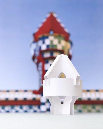 La chimenea de la Casa Vicens.
