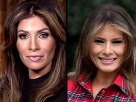 Una dona se sotmet a nou operacions per assemblar-se a Melania Trump