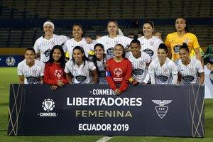 Las brasileñas delCorinthians, ganadoras de la Libertadores 2019.