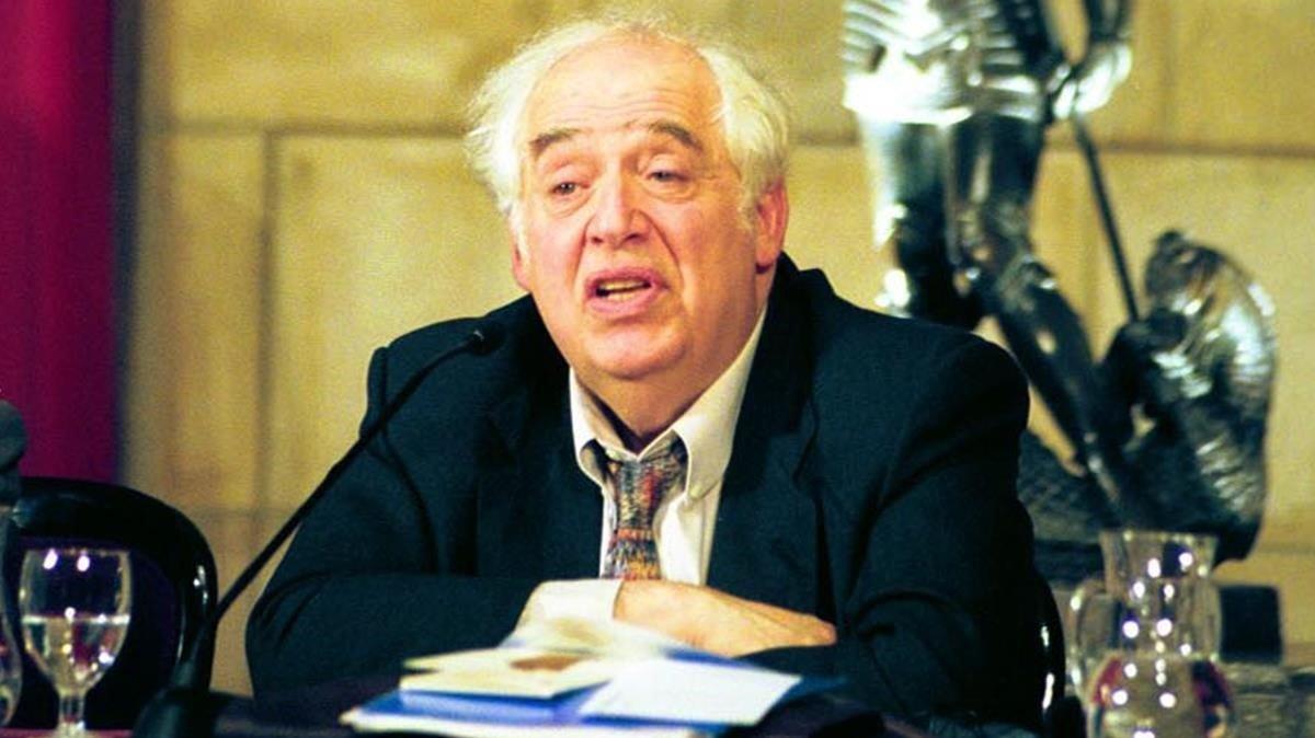 El crítico norteamericano Harold Bloom.
