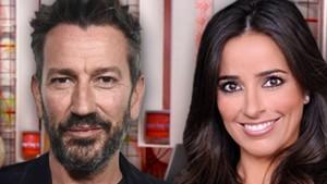 David Valdeperas y Carmen Alcayde, presentadores de Aquí hay madroño en Telemadrid.