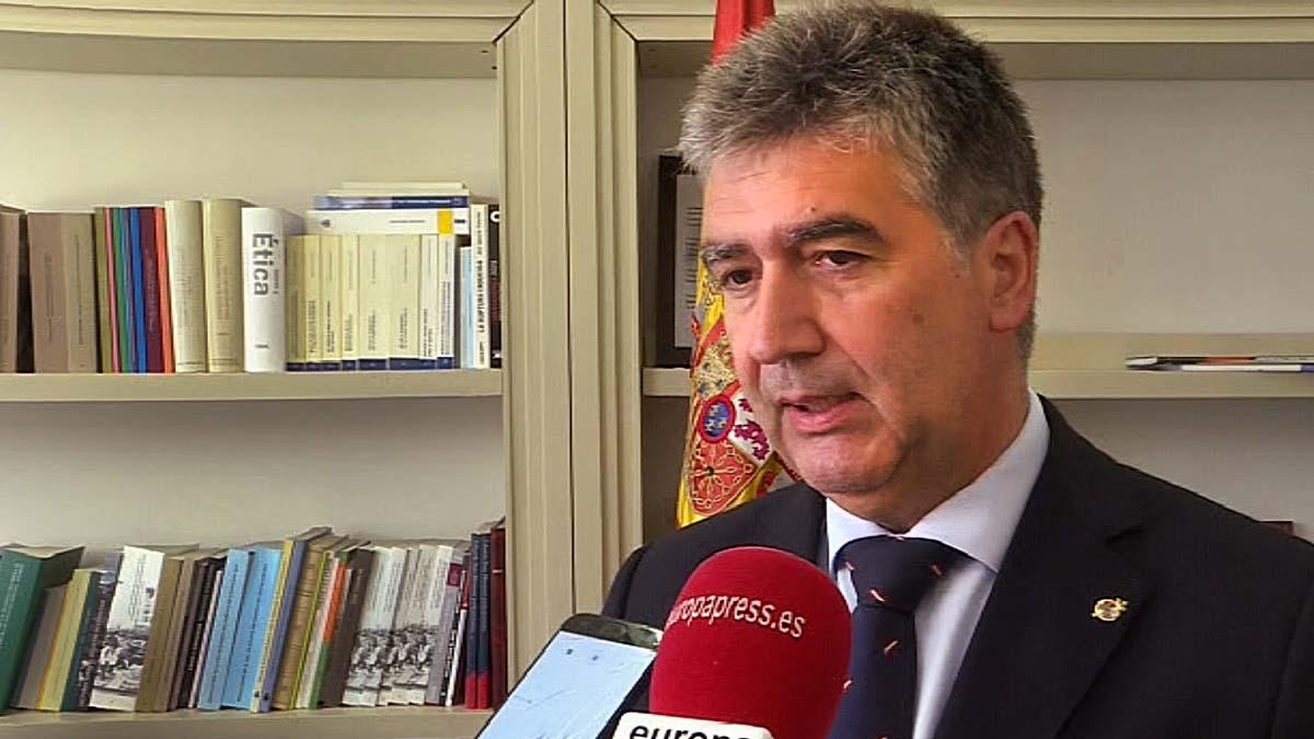 Declaraciones de Cosidó para Europa Press sobre la exhumación de Franco.