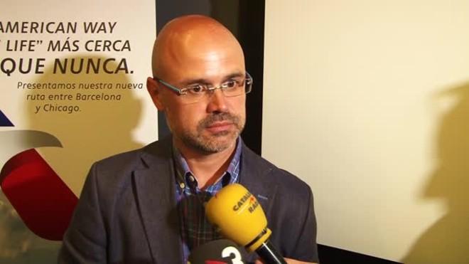 El director regional de ventas dAmerican Airlines para España y Portugal, José A. Blázquez.