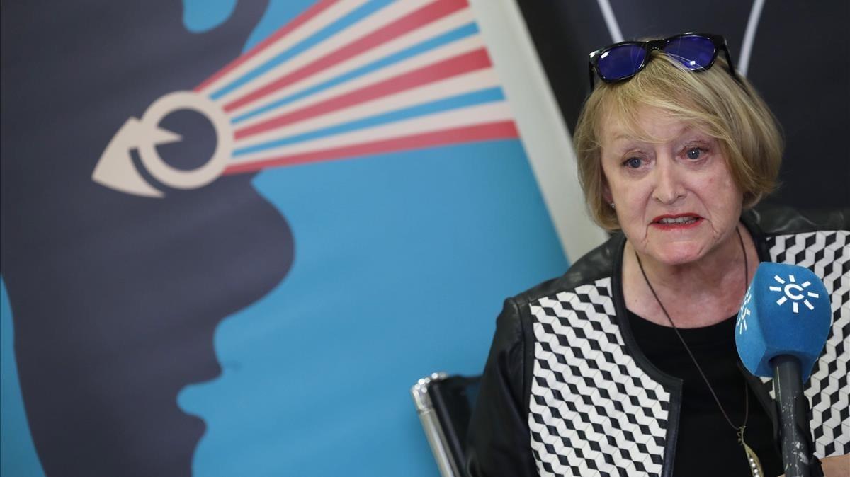 La directora de la Academia de Cine,Yvonne Blake, el pasado octubre.