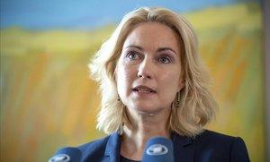 La dirigente del SPD Manuela Schwesig.