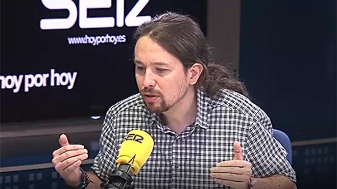 """Iglesias: """"Sánchez tiene que cumplir su palabra. Si defraudara, sería definitivo"""""""