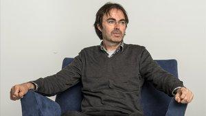El escritor ibicenco Vicente Valero.