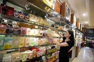 Establecimiento de perfumería en paseo de Gràcia.