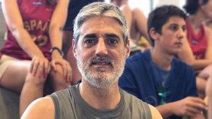 El exjugador de baloncesto Berni Tamames, en una imagen reciente.
