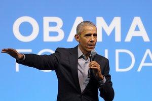 Elexpresidente Obama, en una imagen de archivo.