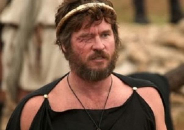 El actor Val Kilmer, encarnando a Filipo.