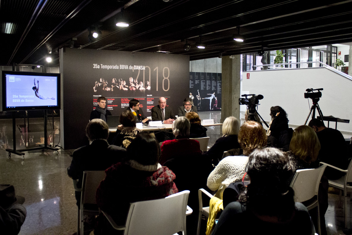 Presentacióde la 35aTemporada de Dansa al Centre Cultural Terrassa.