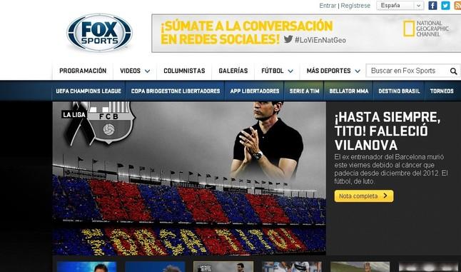 Fox Sports de Mexico.