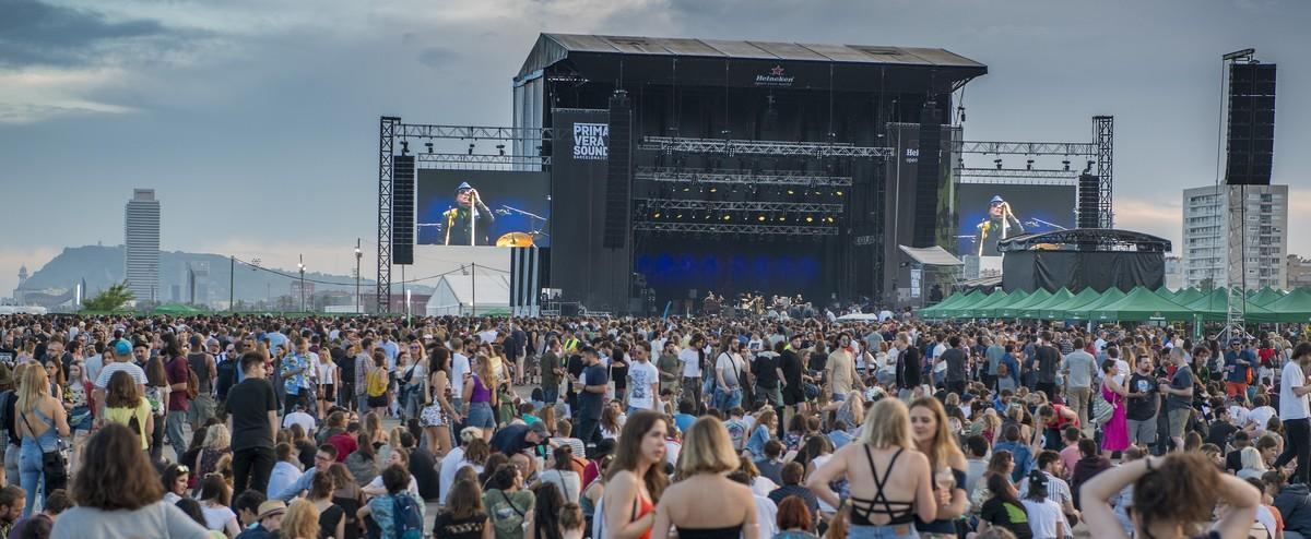 Van Morrison,en la jornada de clausura del festival del pasado año.