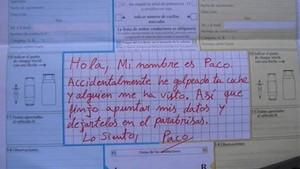 """""""Ho sento, Paco"""": així alerta la Guàrdia Civil contra conductors incívics quan hi ha un accident"""