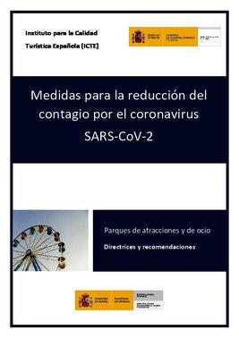 Guía de seguridad covid-19 en parques de atracciones y de ocio