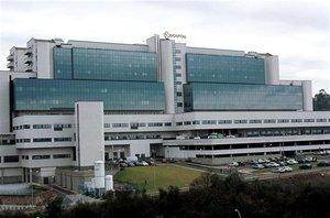 El Hospital Clínico de Santiago.