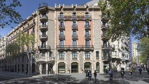 El Hotel Monument, en el paseo de Gràcia de Barcelona.