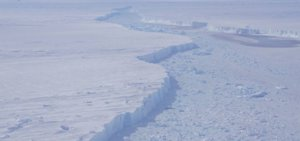 El iceberg gigante B-46.