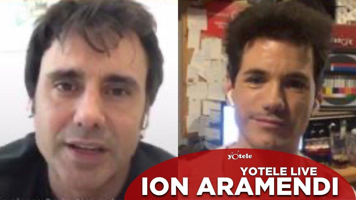 Ion Aramendi y Ricky García en YOTELE Live.