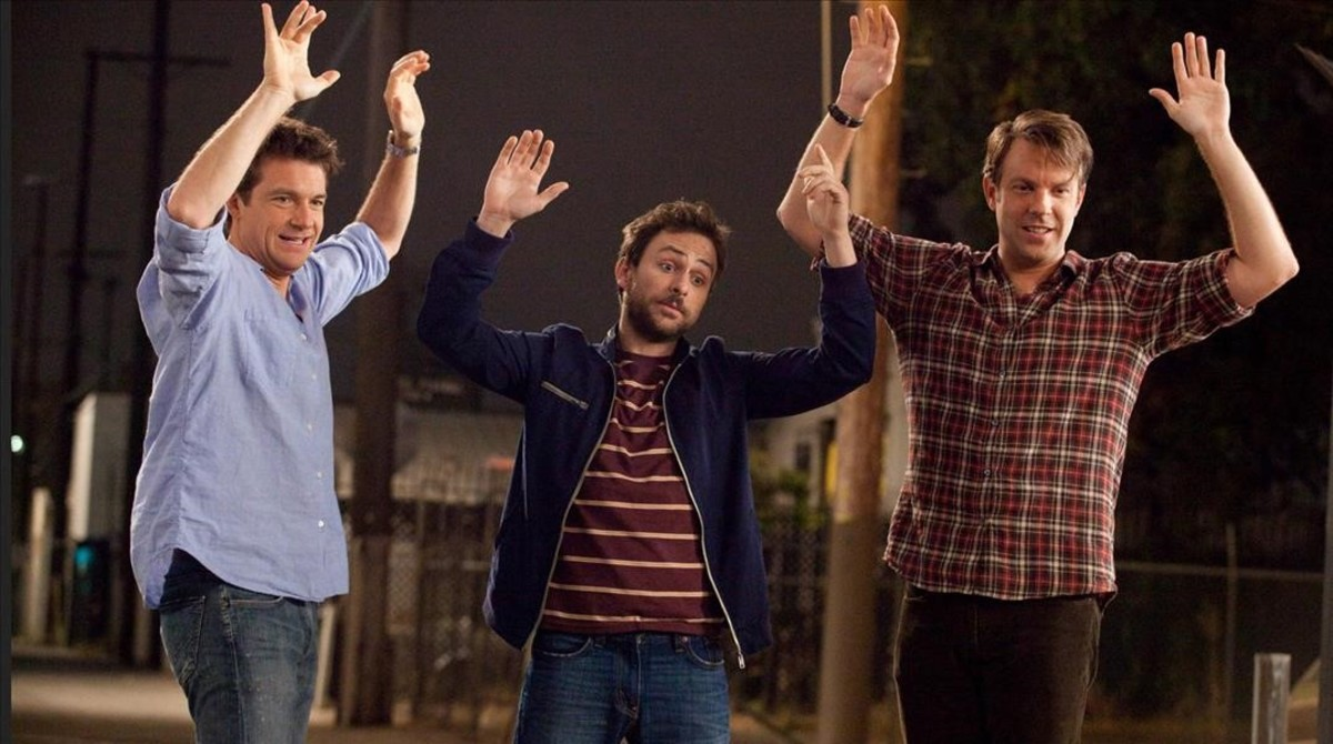 Jason Bateman, Charlie Day y Jason Sudeikis, en Cómo acabar sin tu jefe.