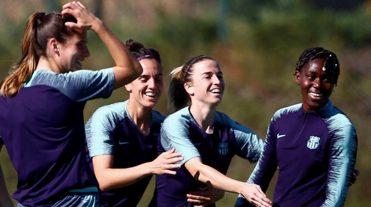 El Barça femení renova Oshoala