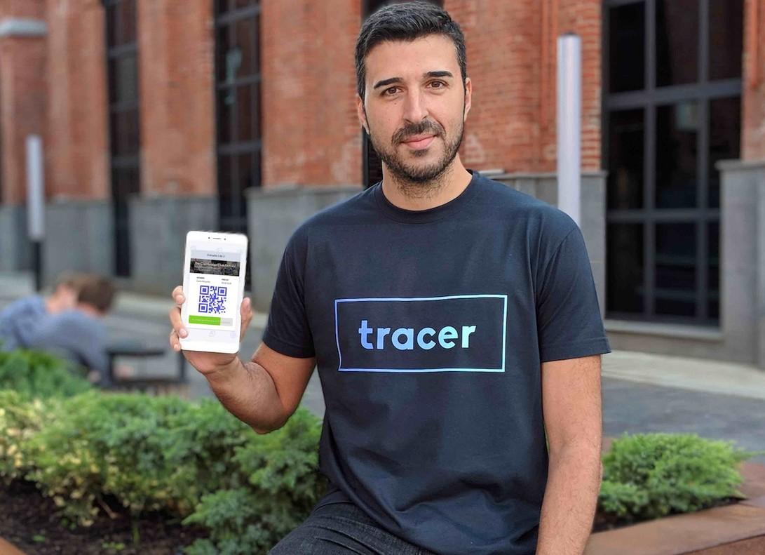 Jorge Díaz, CEO de Tracer