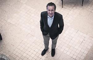 Jorge Valdano, en Barcelona.