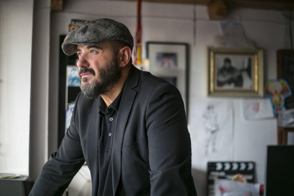 Juanra Fernández, director de la película 'Rocambola'.