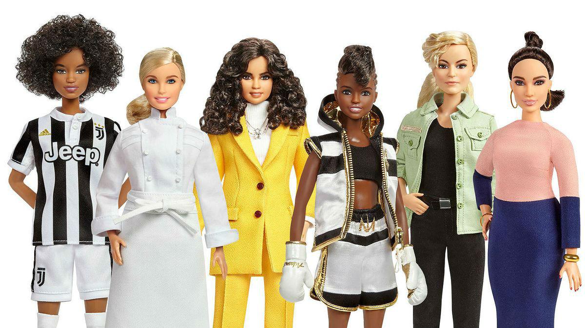 Les 17 dones homenatjades per Mattel i reproduïdes en 17 nines Barbie