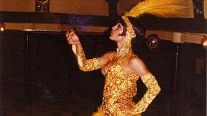 Lita Claver, La Maña, en El Molino, en una imagen de archivo.