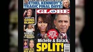 La revista 'Globe afirma que els Obama han trencat