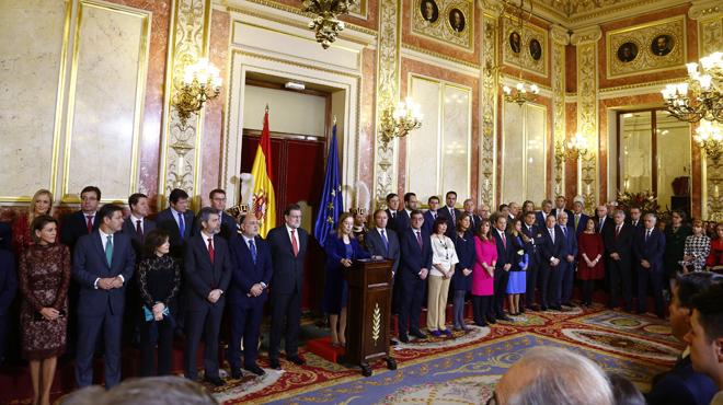 Rajoy frena las expectativas de reforma constitucional