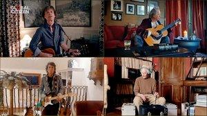 Los Rolling Stone, en el concierto 'on line' 'One world: Together at home'