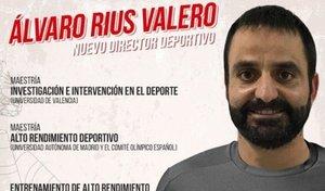 Álvaro Rius Valero es el nuevo director deportivo del América de Cali.