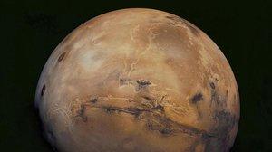 Marte, según la nave 'Viking Orbiter 1'.