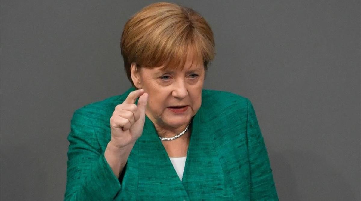 Merkel advierte de que el desafío de la migración es decisivo para el futuro de la UE