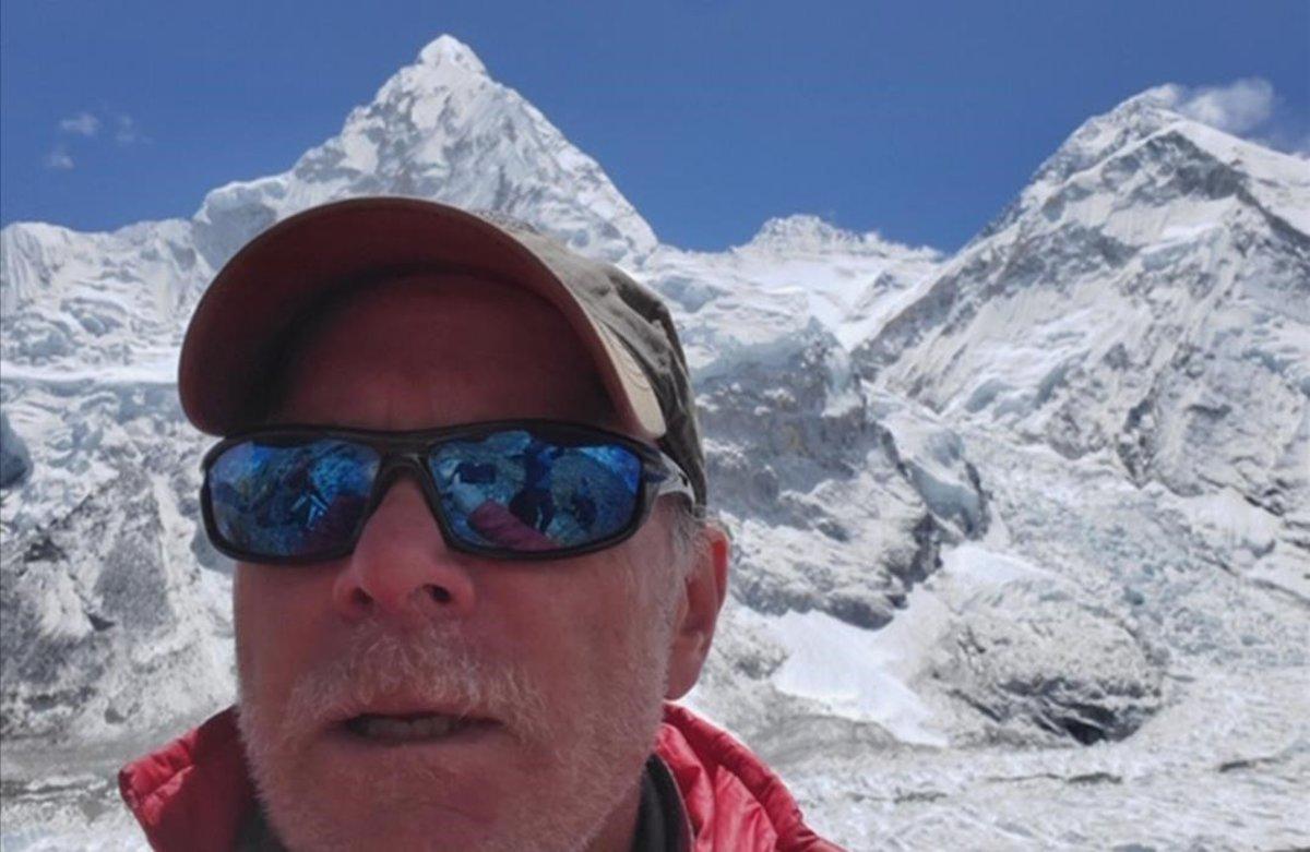 Christopher Kulish, fallecido en el Everest.